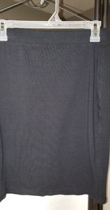Womens small black pencil skirt Old Navy